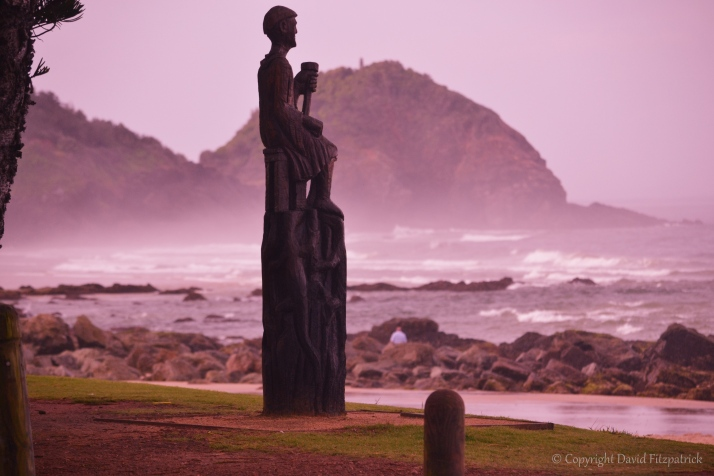 Statue at Shelly Beach
