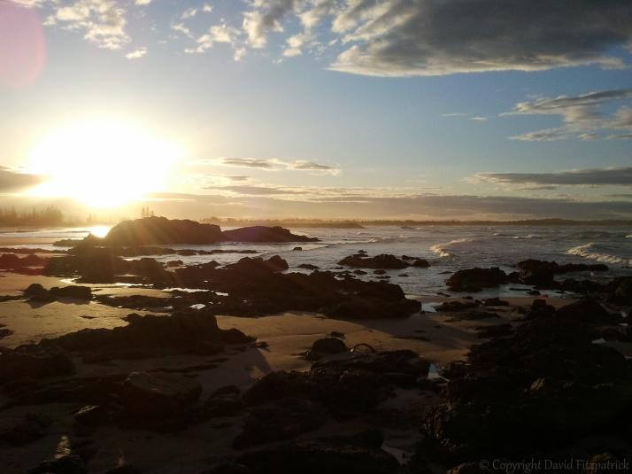 Town Beach Sunset